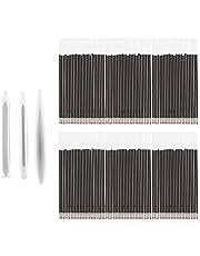 Healifty 3Pcs Pen Vorm Hars Mallen Siliconen Balpen Mallen Met 50 Refill Pennen Voor Diy Pen Kaars Ambachten Maken Tool