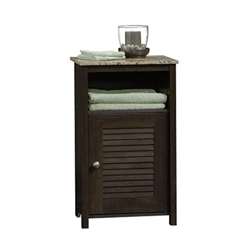 Sauder Peppercorn Floor Cabinet, Cinnamon Cherry Finish (Bathroom Cabinet Bath)