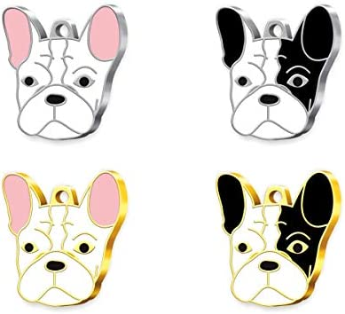 Pet Tag Art French Bulldog Engraved Personalised Pet Tag, Dog Tag, Pet ID Tag