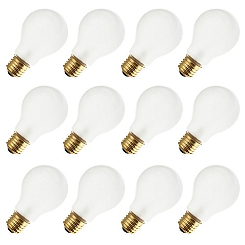 - Industrial Performance 100A19/RS 130V, 100 Watt, A19, Medium Screw (E26) Base Rough Service Light Bulb (12 Bulbs)