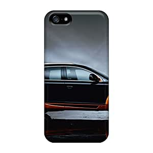 For Iphone 5/5S Phone Case Cover Audi Q7 2010 PC Silicone Gel . Fits For Iphone 5/5S Phone Case Cover