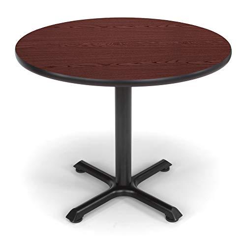 "OFM 36"" Multi-Purpose Round Table, Mahogany (XT36RD-MHGY)"