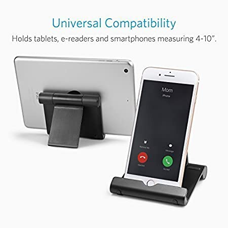 Amazon.com: Anker Portable Multi-Angle Stand For Tablets, E ...