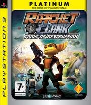Ratchet & Clank: Tools of Destruction Platinum for Sony PS3