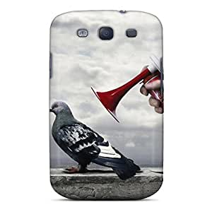BntTMYq6903ljjgd AnnetteL Pigeon Scare Feeling Galaxy S3 On Your Style Birthday Gift Cover Case