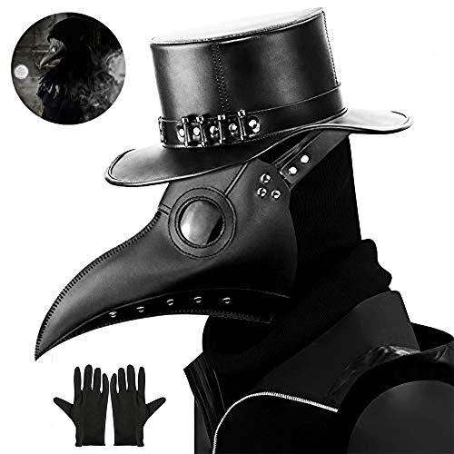 Comprar Máscara gótica de médico de la peste negra cosplay retro steampunk - Tiendas Online Disfraces Originales - Envíos Baratos o Gratis