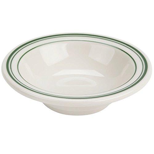 Yanco GB-32 Green Band Fruit Bowl, 3.5 oz Capacity, 4.25