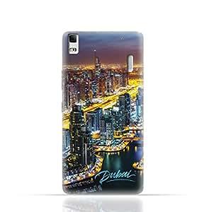Lenovo A7000 TPU Silicone Case with Dubai Marina Design