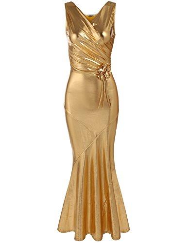 Sparkly wedding dresses 1 top best sparkly wedding dresses angvns womens sleeveless v neck sparkly boycon bridesmaid wedding dress junglespirit Image collections