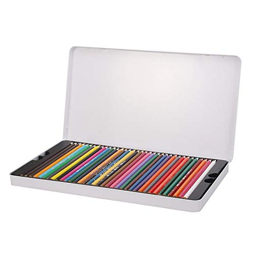Mta4 Water - Paint By Number Pens & Brushes - 72 Colors Art Drawing Oil Base Pencil Set Artist Sketch - Paint Watercolor Art Head Paint & Mta4 Japanese Frame By Nylon Marker Brush Artist Drow Set C811 Pen Br