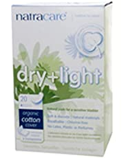 Natracare Dry & Light Pads, 20 Pads (Pack of 3)