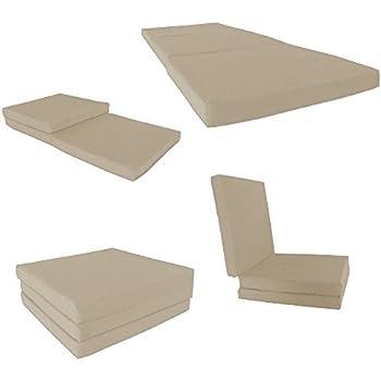 Amazon Com D Amp D Futon Furniture Tan Shikibuton Trifold