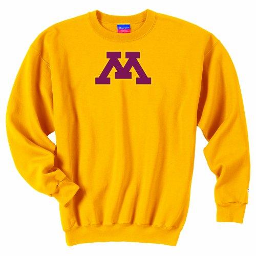 NCAA Minnesota Golden Gophers Men's Powerblend Crew (Gold, XXLarge) ()