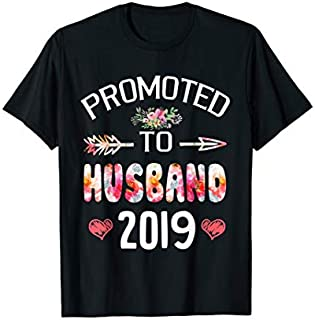 Birthday Gift Promoted To Husband Est 2019 New Husband  Short and Long Sleeve Shirt/Hoodie