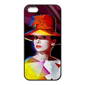 Audrey Hepburn Use Your Own Image Phone Case for Iphone 6 plus,customized case cover ygtg-786663