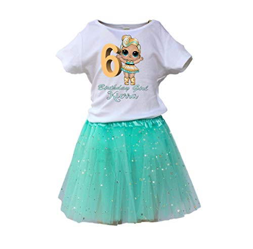 Girl LOL Dolls TUTU birthday outfit Girl LOL age name tutu dress LOL Dolls tutu dress girl tutu by Bele-Creations
