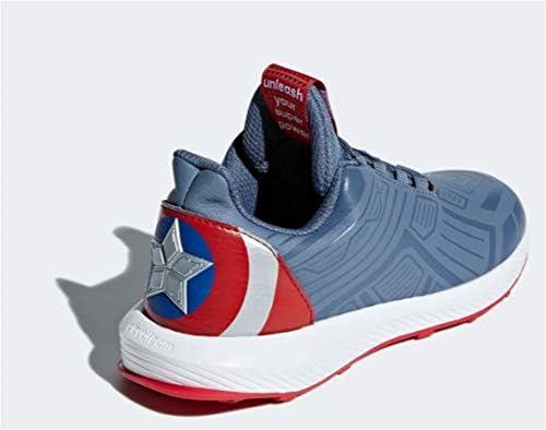 globo Fuerza motriz Yogur  adidas RapidaRun Unisex Kids Running Marvel Captain America LTD Sneakers  (4.5 M US, Raw Steel/Tech Ink/Scarlet): Buy Online at Best Price in UAE -  Amazon.ae