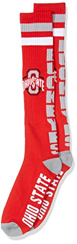 Donegal Bay NCAA Ohio State Buckeyes Tube Socks, One Size, Red by Donegal Bay