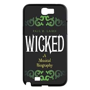 LSQDIY(R) Musical Wicked Samsung Galaxy Note 2 N7100 Phone Case, Cheap Samsung Galaxy Note 2 N7100 Hard Back Case Musical Wicked