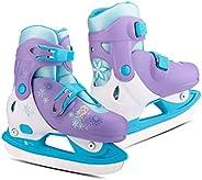 Disney Frozen Adjustable Ice Skates, XS (Y8 – Y11), Purple/Blue