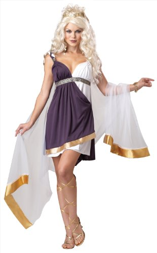 California Costumes Women's Venus Goddess Of Love Adult, Purple/White, (Venus Sexy Costumes)