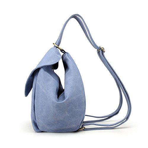 Negro al Bolso JAGENIE Mujer Azul para Celeste Hombro Negro YOnnqw5