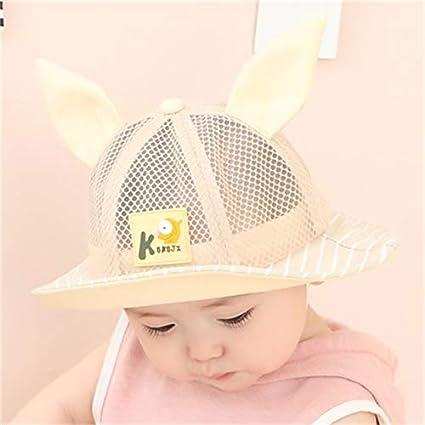 2b61aa7a6 Amazon.com: baby hat cap hat women girls baby 6-12 months thin mesh ...