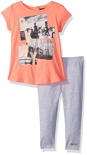 DKNY Baby Girls Fashion Top Pant Set