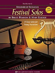 (Standard of Excellence: Festival Solos Trombone (Book & Cd Package, One) Paperback 2003)