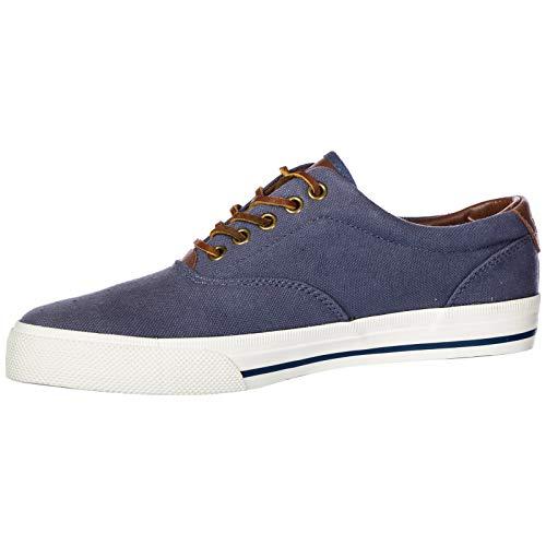 Polo Sneaker Vaughn Shoe Scarpa Uomo Ralph Man C2068 Blu ne Lauren qdEAwAX