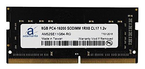 Adamanta 8GB (1x8GB) Laptop Memory Upgrade DDR4 2400Mhz PC4-19200 SODIMM 1Rx8 CL17 1.2v Notebook RAM DRAM