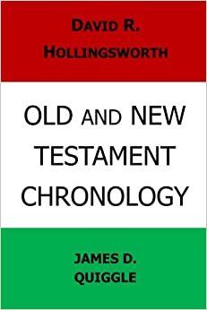 Book Old and New Testament Chronology
