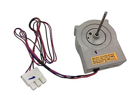 Motor de ventilador de evaporador de refrigerador de repuesto para ...