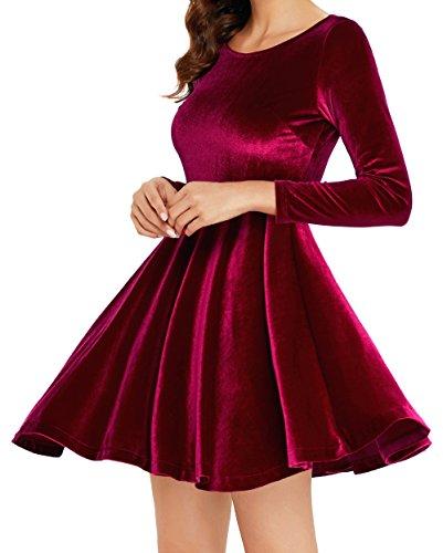 mini dress and heels - 6