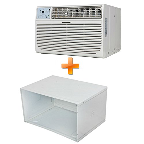 Keystone Combo Offer KSTAT08-1C 8000 BTU 115V Through-the-Wall Air Conditioner with Follow Me LCD Remote Control and 26'' Wall Sleeve for Through-the-Wall Air Conditioners. by Keystone