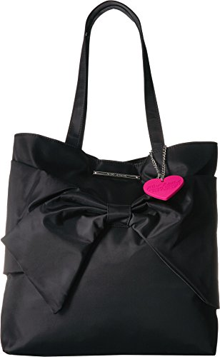 Betsey Johnson Women's Bow Tote Black One ()
