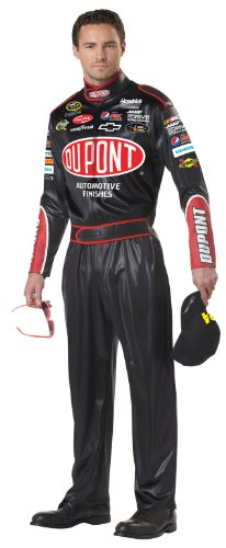 Dale Earnhardt Halloween Costume (California Costumes Men's Nascar Jeff Gordon Costume, Black,)
