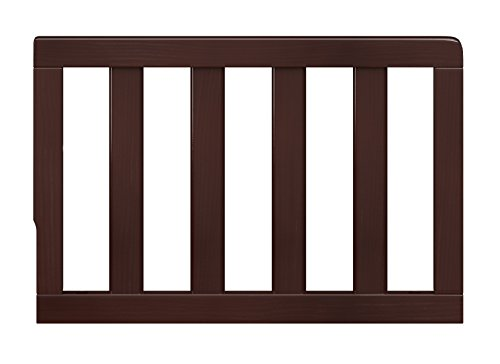 Storkcraft Toddler Guardrail Espresso Safety Guard Rail For Convertible Crib Toddler Bed