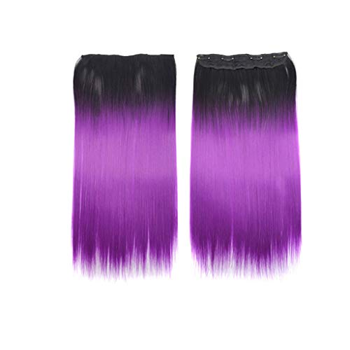 NRUTUP Hair Extensions Straight Hair Extension Long Hairpiece For Fashion Sexy Women Hot Sales(C,Free Size) ()