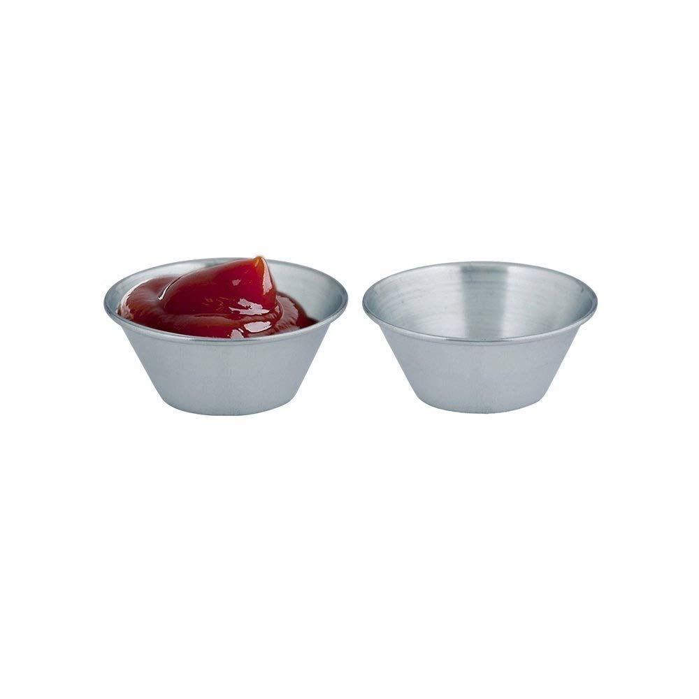 Kosma Set of 576 Stainless Steel Condiment Cups | Pots Dish |Sauce Cup 1.5 oz/.45 ml