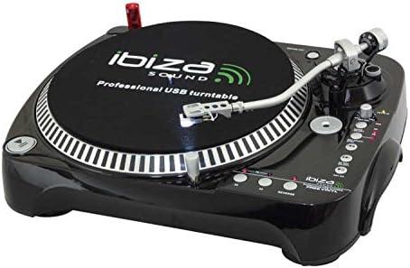 Ibiza FREEVINYL - Giradiscos (con grabador, USB, CD): Amazon.es ...