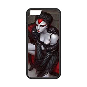 Iphone 6 Girl Phone Back Case Personalized Art Print Design Hard Shell Protection YT013424