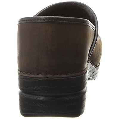 Dansko Stylish Narrow Pro Men Mules & Clogs Shoes, Elegant Footwear, Antique?Brown?Oiled, Size - 43