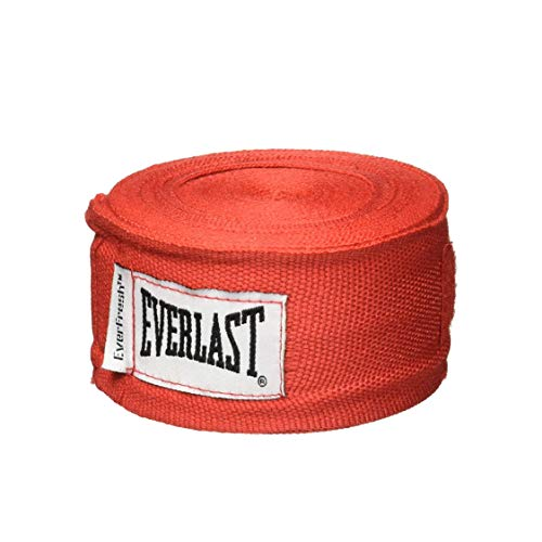 Everlast Professional Hand Wraps, 180-Inch, Red