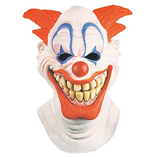 Fun Express - Clown Mask for Halloween - Apparel Accessories - Costume Accessories - Masks - Halloween - 1 Piece -