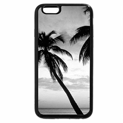 iPhone 6S Case, iPhone 6 Case (Black & White) - magical kings beach in the west indies