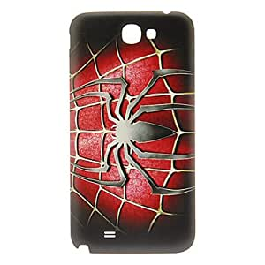 Spider Pattern Back Cover for Samsung Galaxy Note2 N7100