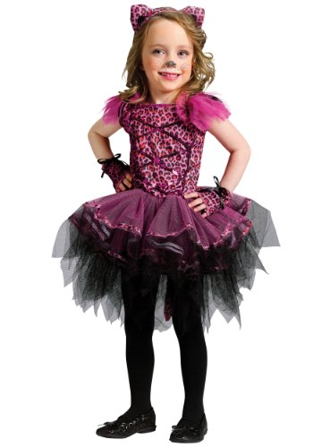 Little Girls' Ballerina Leopard Costume - -