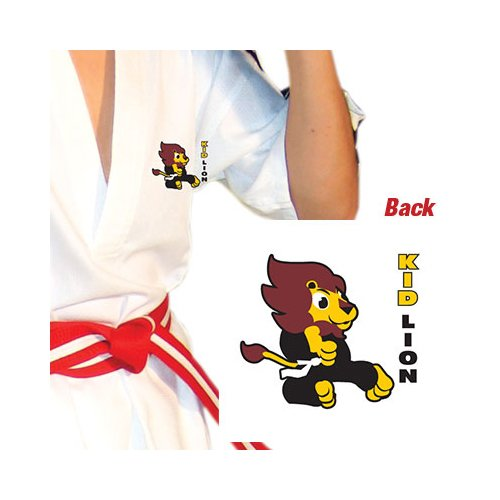 Tiger Claw Elite Sport Taekwondo Uniform - Kid Lion - White - Size 0000