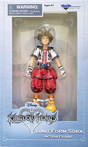Kingdom Hearts Diamond Select Limit Form Sora Action Figure